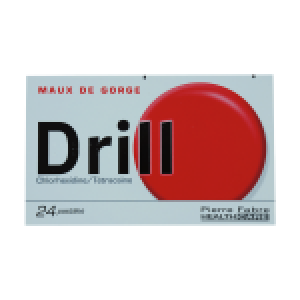 Drill chlorhexidine/Tétracaïne