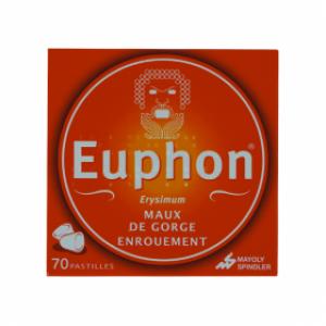 Euphon pastilles avec/sans sucre