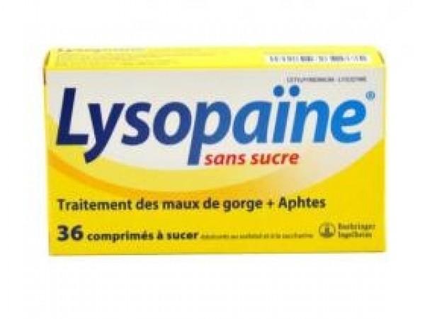 Lysopaïne sans sucre