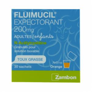 Fluimucil 30 sachets