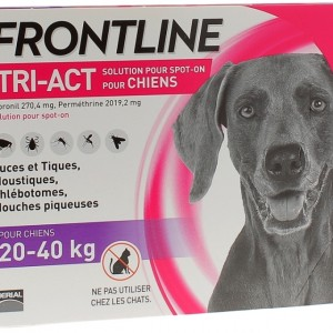Frontline Tri-act 20-40kg 3 pipettes