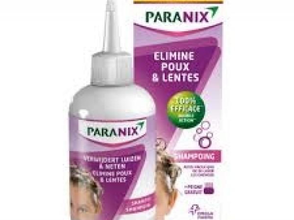 Paranix shampooing + peigne
