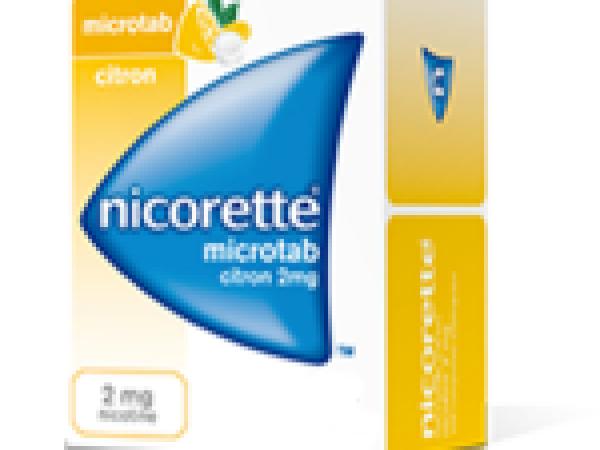 Nicorette 2 mg microtab boite 100