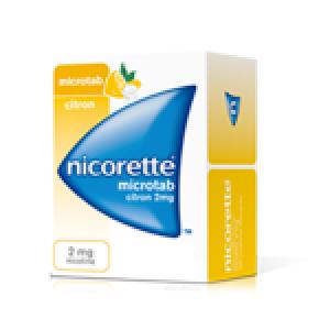 Nicorette 2 mg microtab boite 30