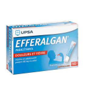 Efferalgan 1 gramme sticks capuccino