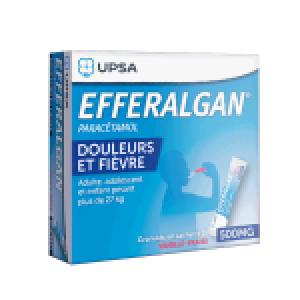 Efferalgan 500mg sticks vanille-fraise