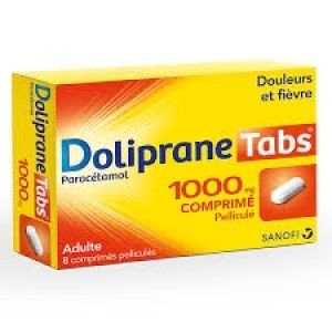 Doliprane Tabs 1000 mg