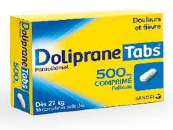 Doliprane tabs 500 mg
