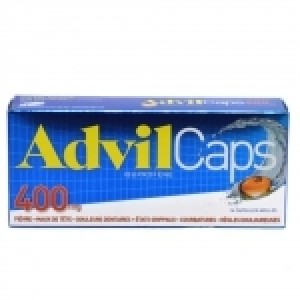 Advil caps 400 mg