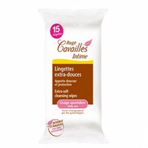 Lingettes intimes extra-douces *15